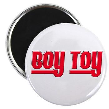 Boy Toy - Red Magnet