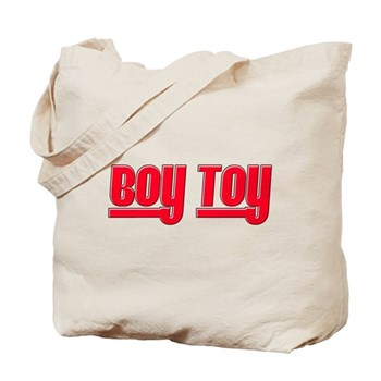 Boy Toy - Red Tote Bag