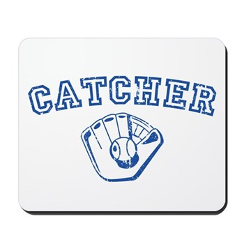 Catcher - Blue Mousepad