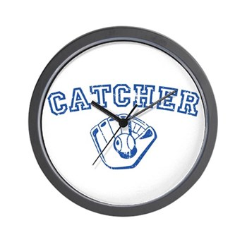 Catcher - Blue Wall Clock