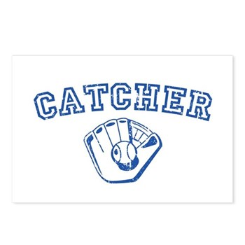 Catcher - Blue Postcards (Package of 8)
