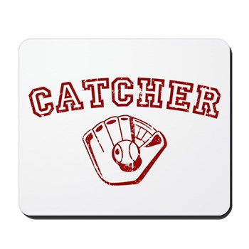 Catcher - Red Mousepad
