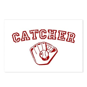 Catcher - Red Postcards (Package of 8)