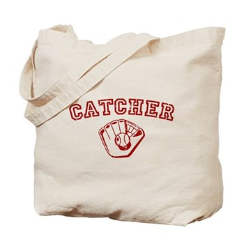Catcher - Red Tote Bag