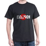 Stop Exclusion Black T-Shirt