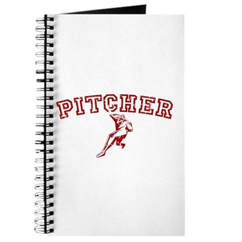 Pitcher - Red Journal