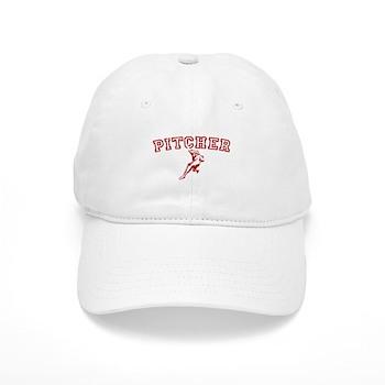 Pitcher - Red Cap