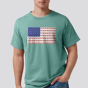 USA Patriotic Cat Flag T-Shirt