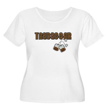 Teabagger Women's Plus Size Scoop Neck T-Shirt