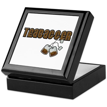 Teabagger Keepsake Box
