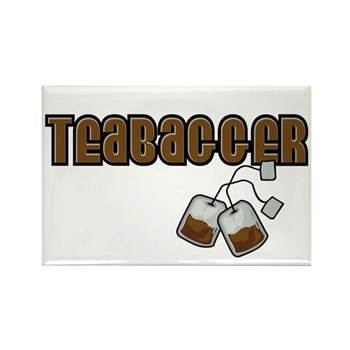 Teabagger Rectangle Magnet (10 pack)