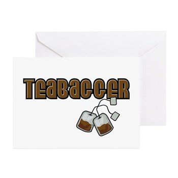 Teabagger Greeting Cards (10 pack)