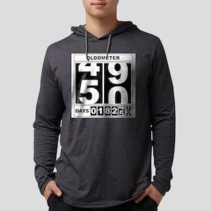 50th Birthday Oldometer Long Sleeve T-Shirt