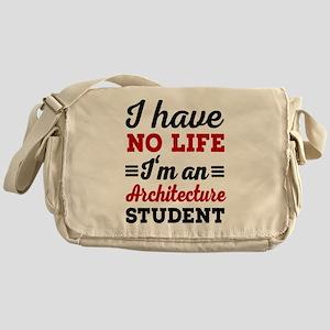 Architecture student Messenger Bag