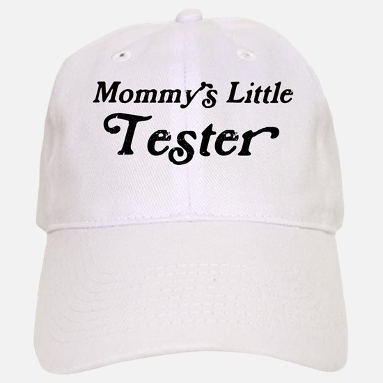 Mommys Little Tester Baseball Baseball Cap