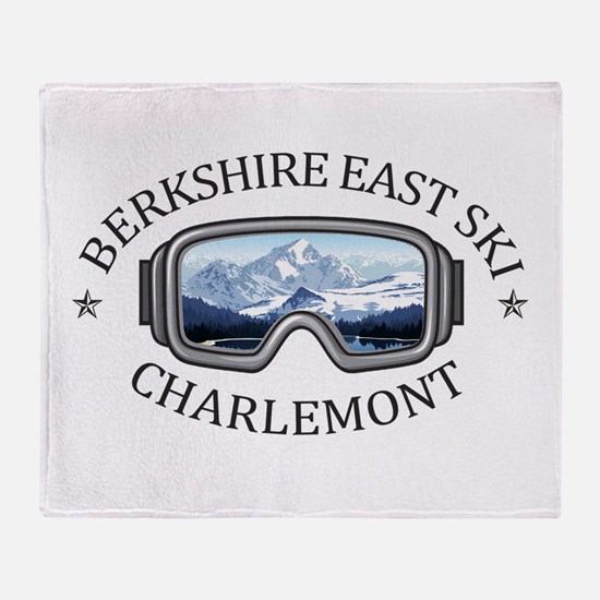 Berkshire East Ski Resort - Charle Throw Blanket