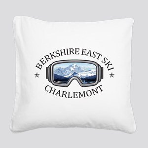 Berkshire East Ski Resort - Square Canvas Pillow