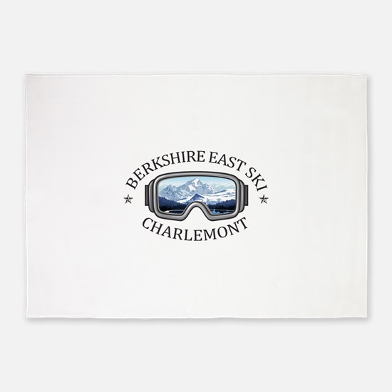 Berkshire East Ski Resort - Charl 5'x7'Area Rug