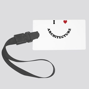 Architecture Large Luggage Tag