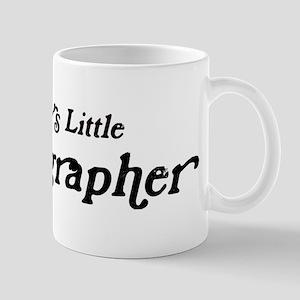Mommys Little Oceanographer Mug