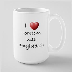 Love Someone Large Mug