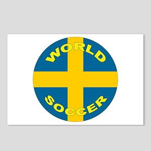 Sweden World Cup 2006 Soccer Postcards (8 Pack)