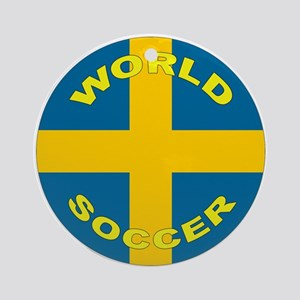 Sweden World Cup 2006 Soccer Ornament (Round)