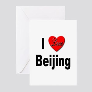 I Love Beijing Greeting Cards (Pk of 10)