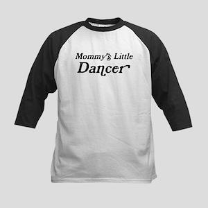 Mommys Little Dancer Kids Baseball Jersey