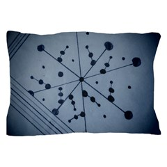 Abstract Blue Pillow Case