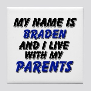 my name is braden and I live with my parents Tile