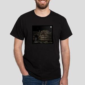 Nessebur Hungary Vampire Black T-Shirt