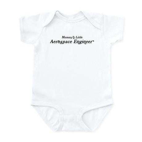 Mommys Little Aerospace Engin Infant Bodysuit