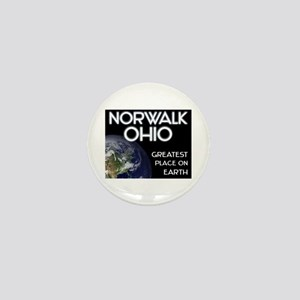 norwalk ohio - greatest place on earth Mini Button