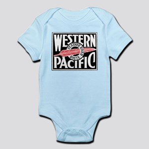 Feather River Route train logo Body Suit