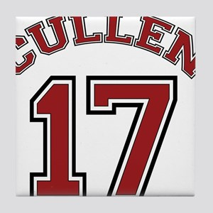 Cullen #17 Tile Coaster