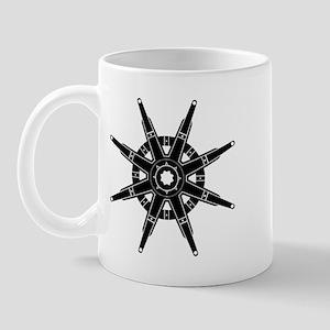 The Dharma Wheel Mug
