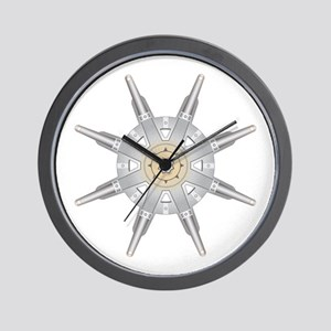 The Dharma Wheel Wall Clock
