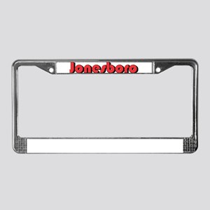 Jonesboro, Arkansas License Plate Frame