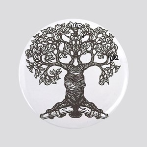 """The Reading Tree 3.5"""" Button"""