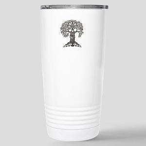 The Reading Tree Stainless Steel Travel Mug
