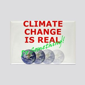 Global Warming Climate Change Rectangle Magnet