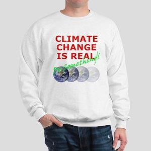Global Warming Climate Change Sweatshirt