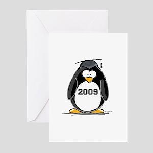 2009 Graduation Penguin Greeting Cards (Pk of 10)