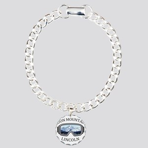 Loon Mountain - Lincol Charm Bracelet, One Charm