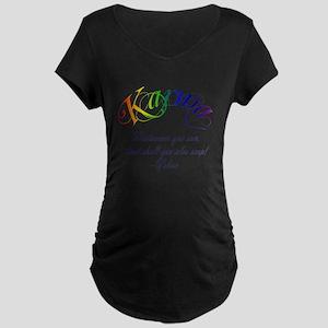Karma Maternity Dark T-Shirt