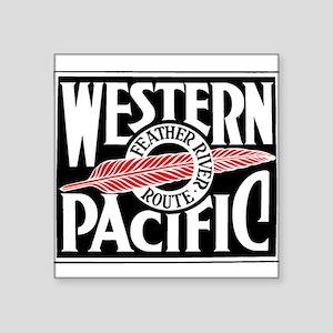 Feather River Route train logo Sticker