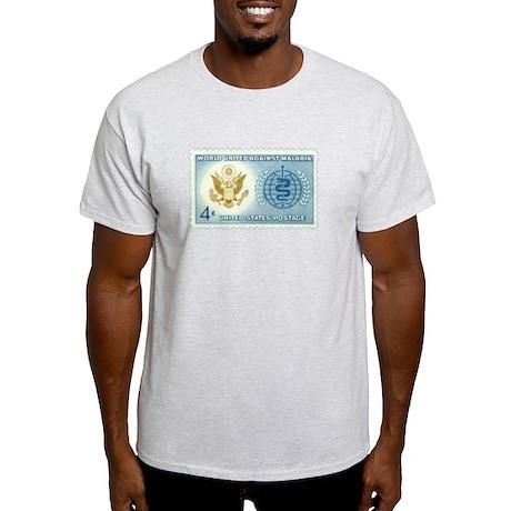 Malaria Stamp Light T-Shirt