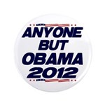 """Anyone But Obama 3.5"""" Button (100 pack)"""