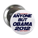 """Anyone But Obama 2.25"""" Button (100 pack)"""